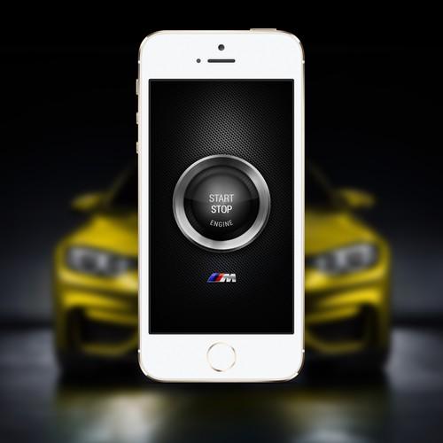 BMW M Power Speedometer APP Design