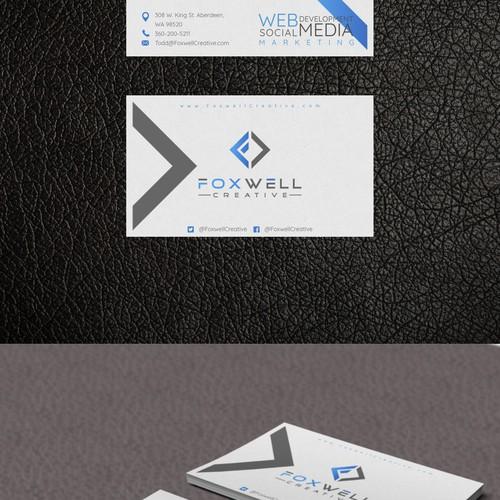 Logo concept for Foxwell Creative