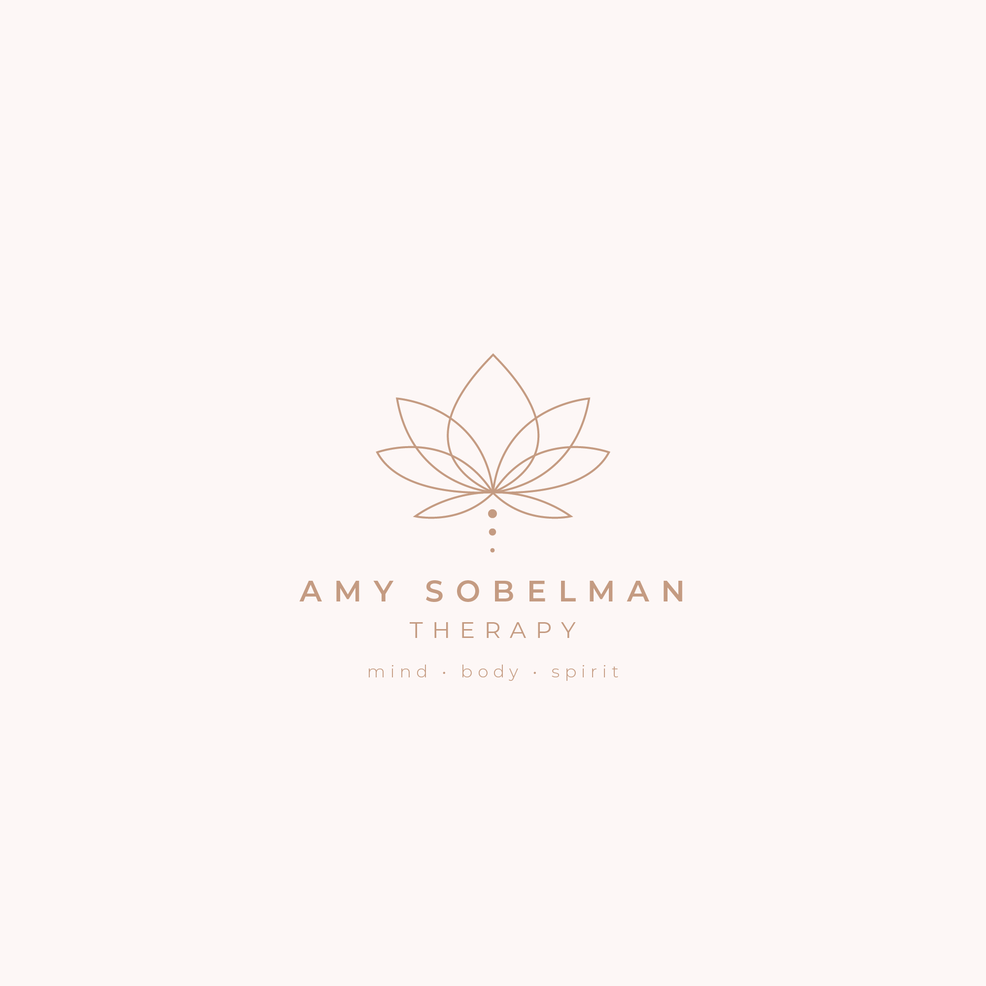 Design a beautiful and inspiring logo for a professional holistic therapy practice for millennials