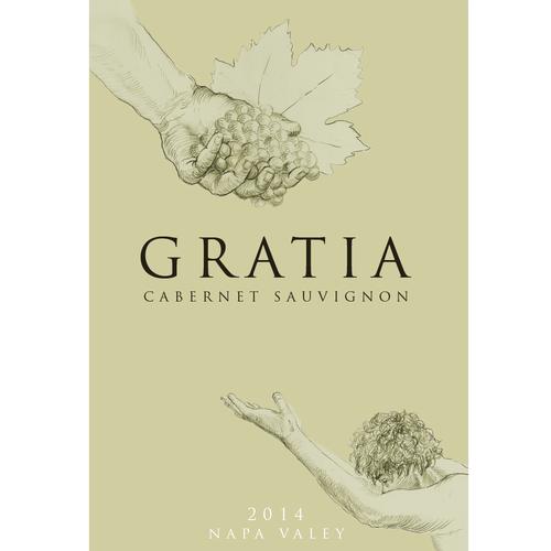 Gratitude Wines Label Creation