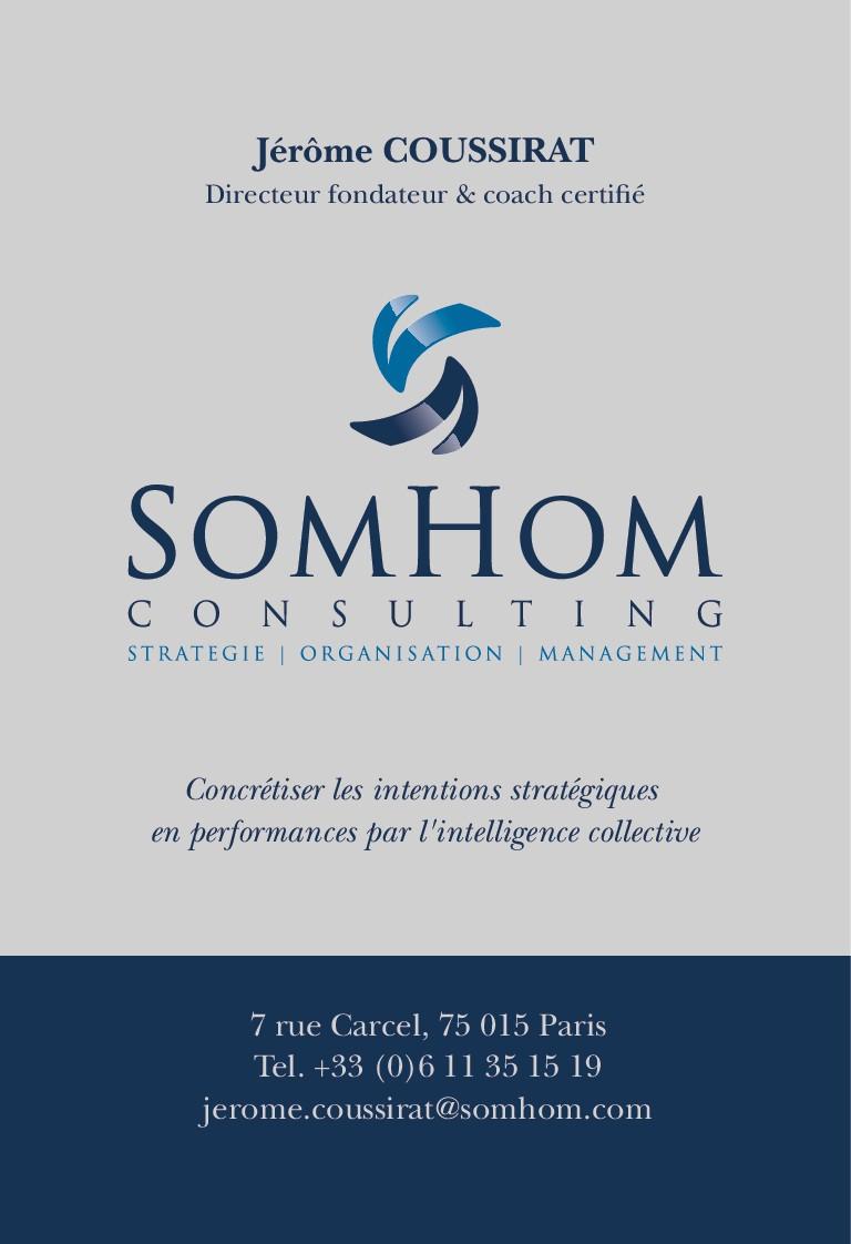 Recréer un logo pour société de conseil en management et accompagnement du changement