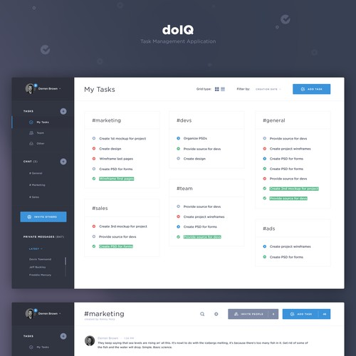 Task Management Web App