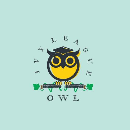 Ivy League Owl Logo