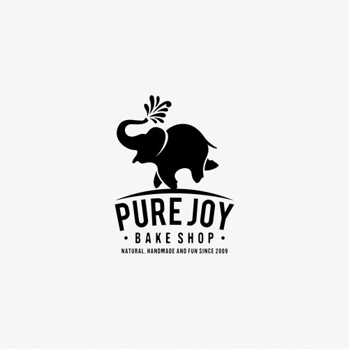Pure Joy logo design