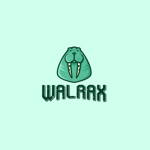 Walrus Logo for Gaming Marketplace!