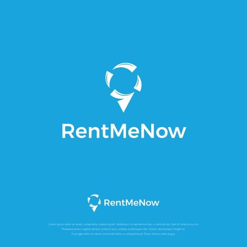 RentMeNow Logo Design