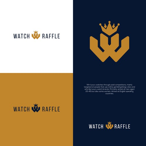 Design a luxury logo for Watch Raffle - Online Competition Site