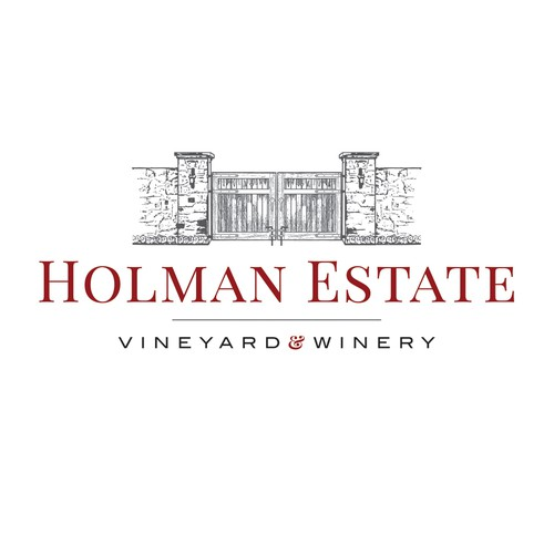 Holman Estate a Winery and Vineyard Logo