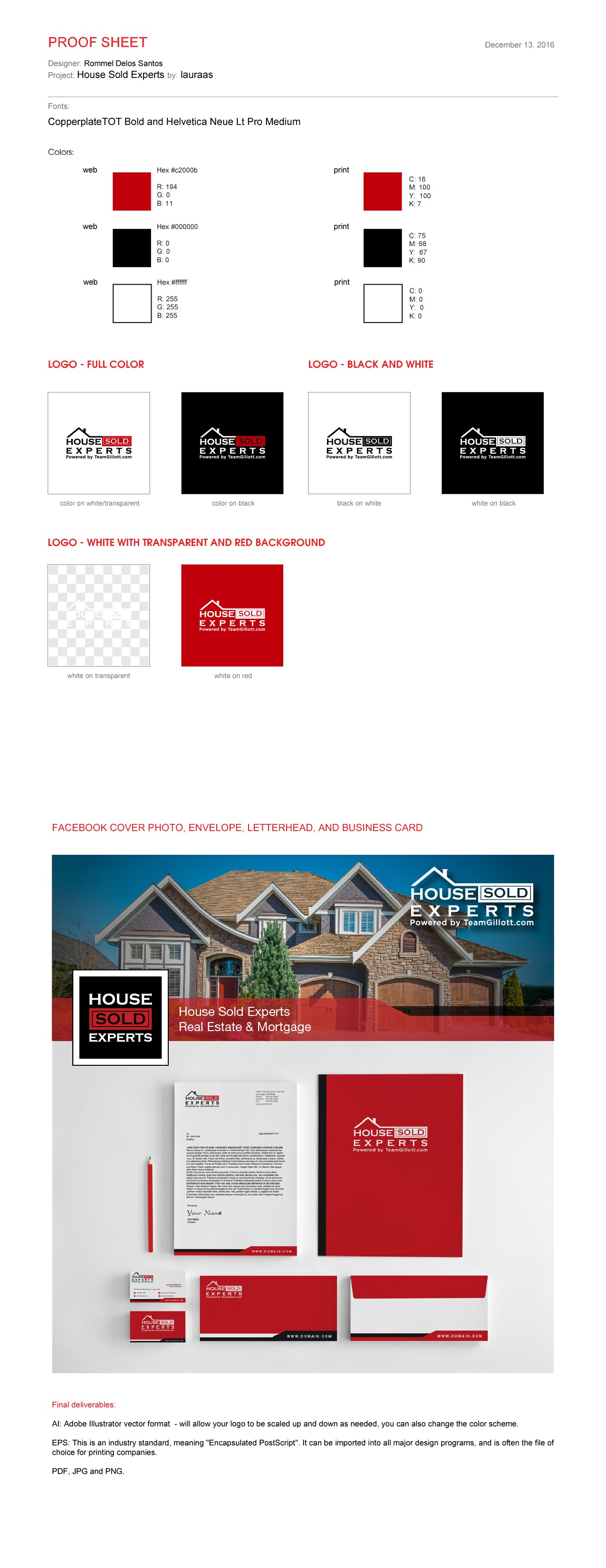 Design for the #1 Real Estate Team in Oregon...Be Seen!!