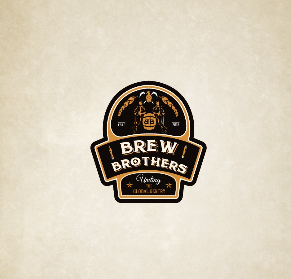LOGO which depicts brotherhood and beer!