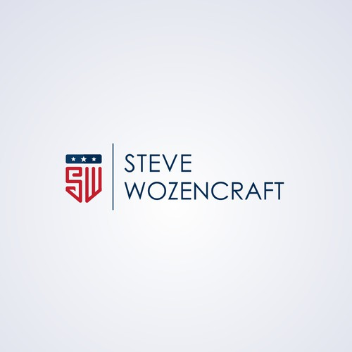 Modern logo concept for Steve Wozencraft