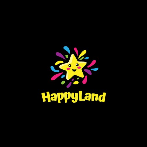 Fun Logo Concept for HappyLand