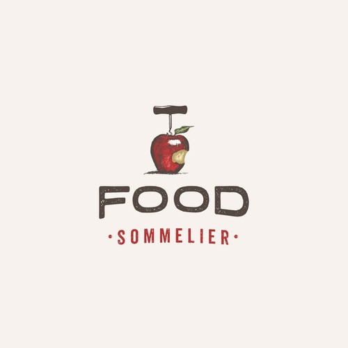 "Love Food?   Create a logo for the ""Food Sommelier"""