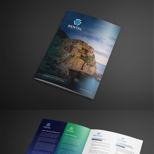 Clean fresh brochure design