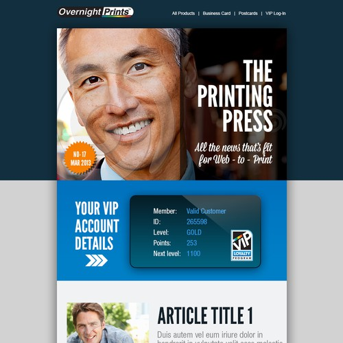 *Guaranteed* Overnight Prints needs a new email newsletter