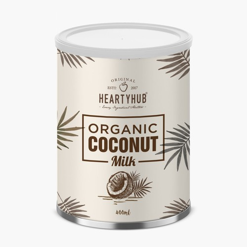 Coconut milk packaging