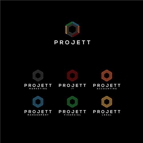 Projett Logo Designs