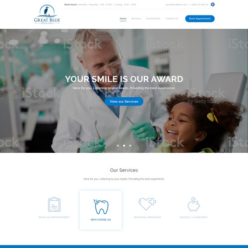 Website for Dental Office