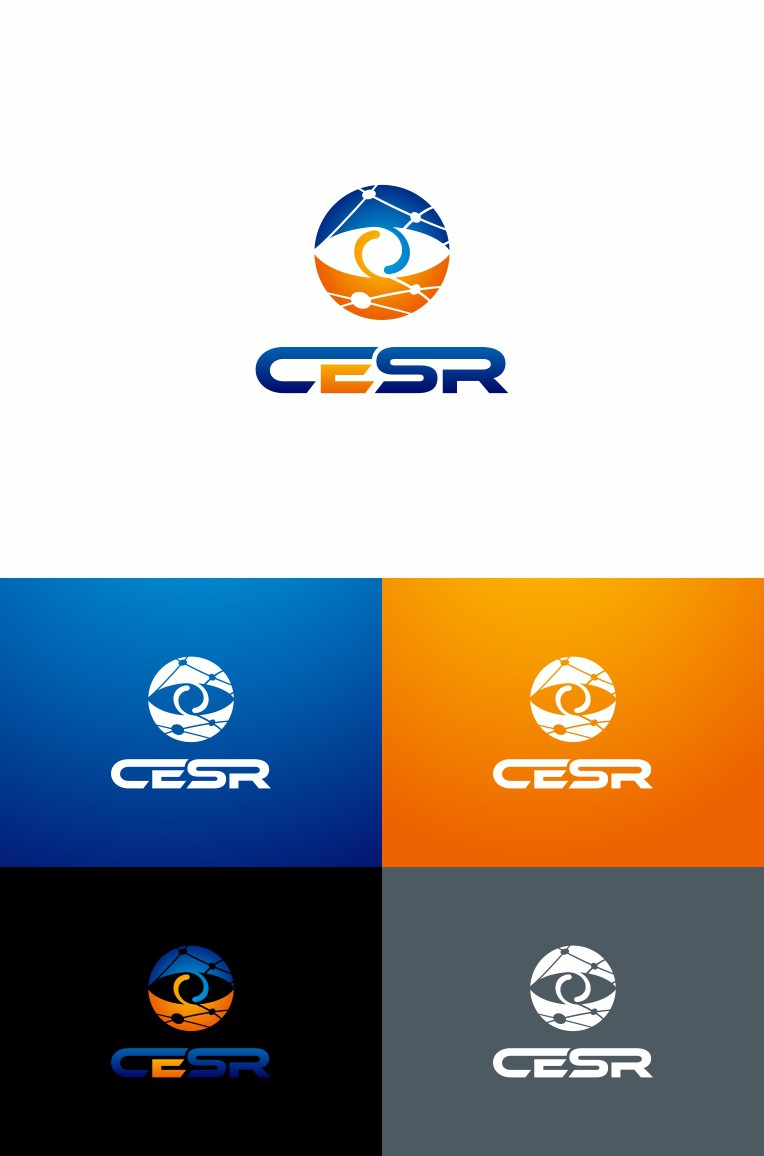 Create a logo for CESR, a cybercrime computer security research group