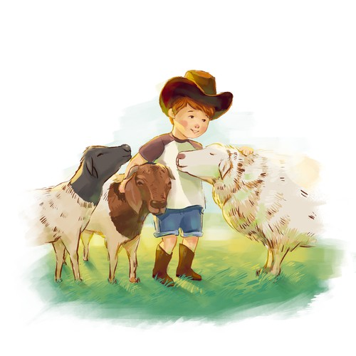 The Little Farmer books