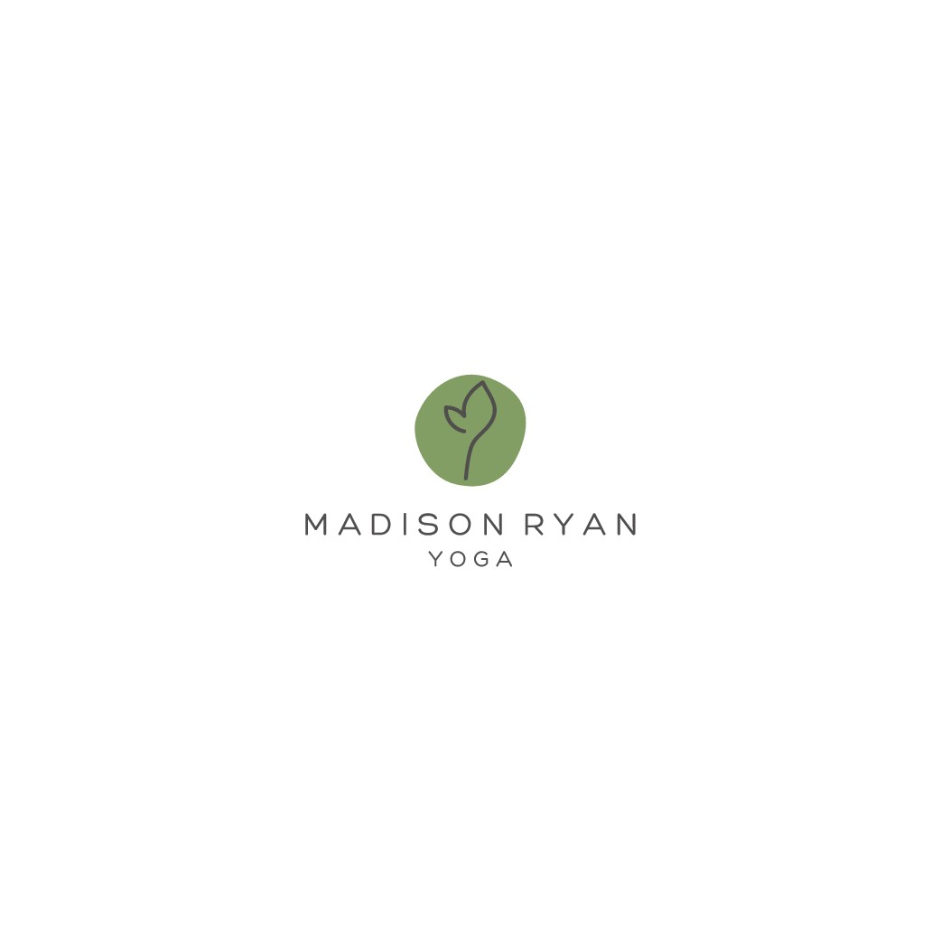 Create a Yoga Studio logo based on growth!