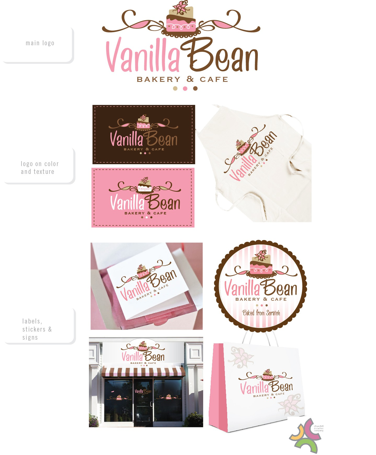 New logo wanted for Vanilla Bean Bakery and Cafe