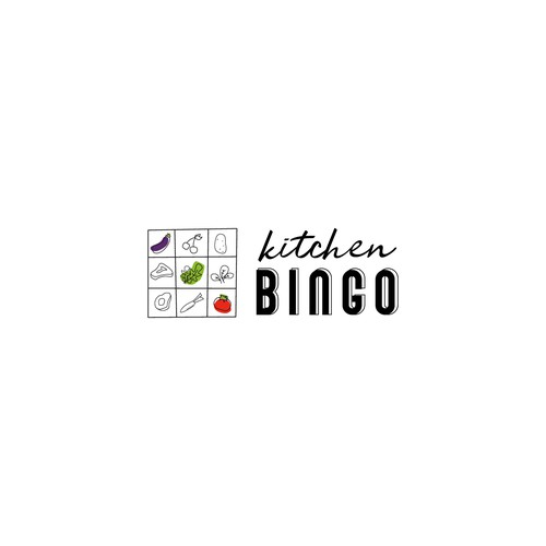 Logo concept for Kitchen Bingo