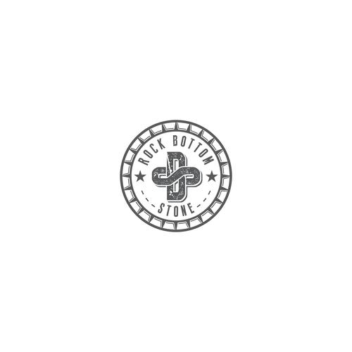 Logo for Rock Bottom Stone