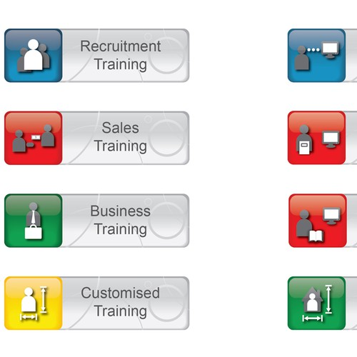 Fusion Training needs a new button or icon