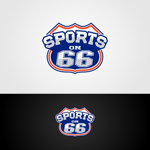 Sports on 66 Logo