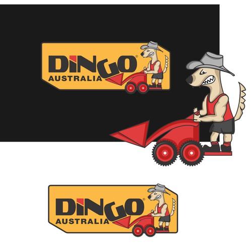 Bold logo design for dingo cmpany