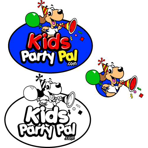 Create a logo for Kids Party Pal