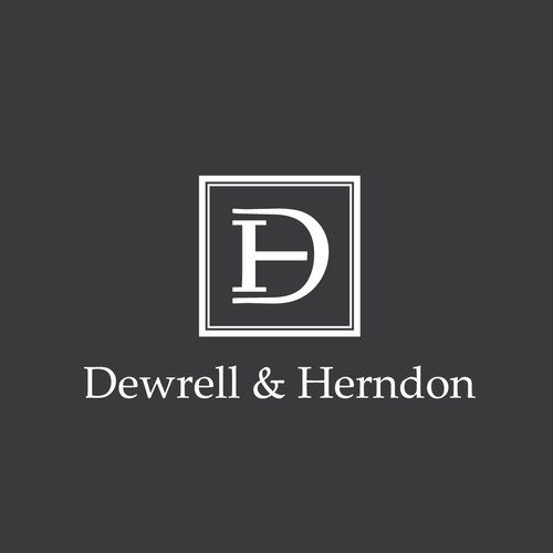 Winning design for Dewrell & Herndon logo contest.