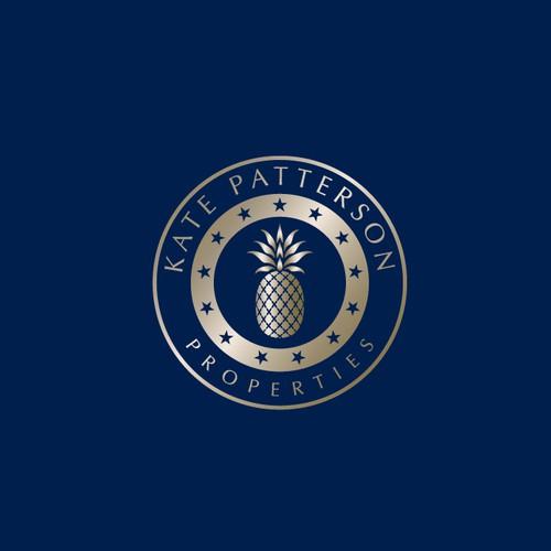 Elegant Pineapple logo for Property Management Company