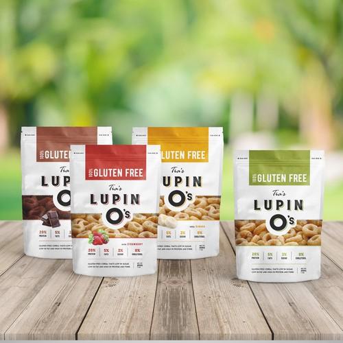 Modern elegant package design for top shelf adult cereal