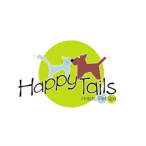 Logo design for Holistic Pet Spa
