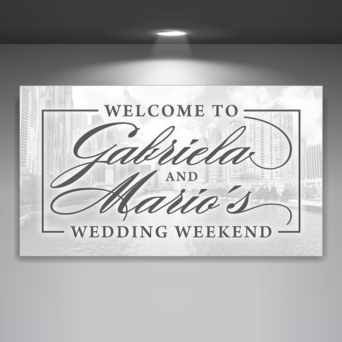 Elegant Wedding Sign