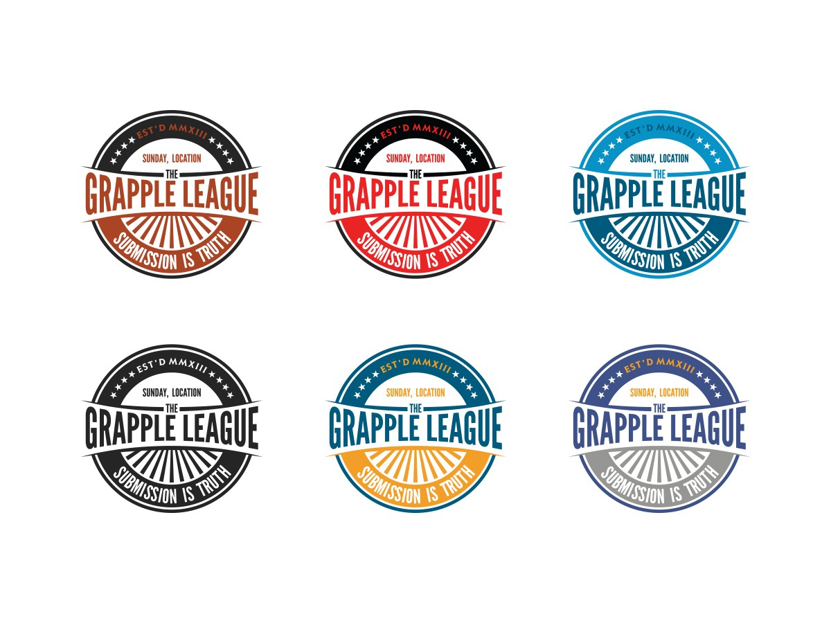 Help The Grapple League with a new logo ($100 Added to the pot!)