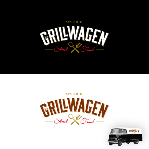 Logo concept for GrillWagen