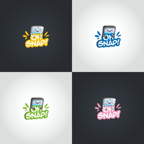 Playful logo for a innovative cell phone accessory brand!