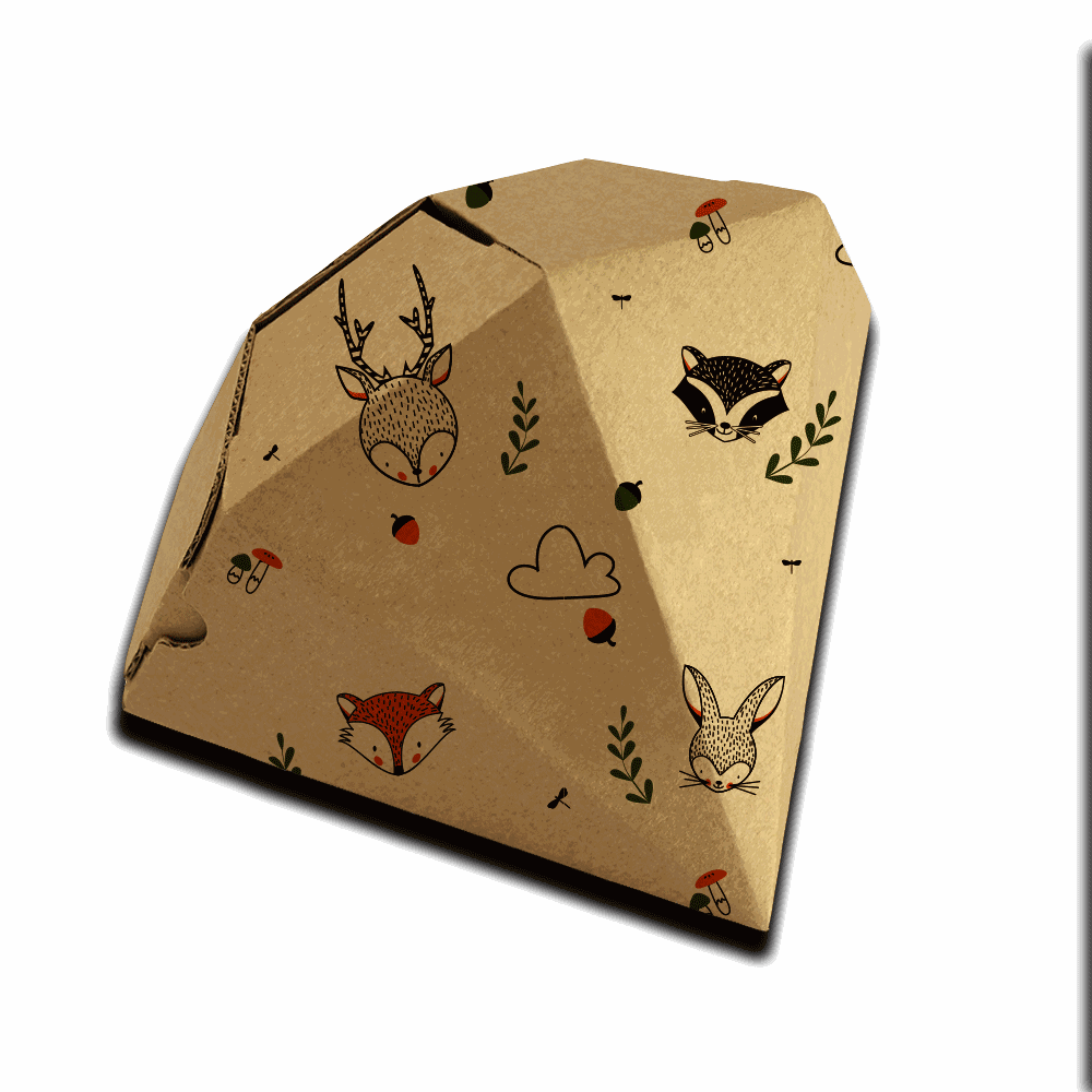 Graphic Design for Origami Gift Boxes