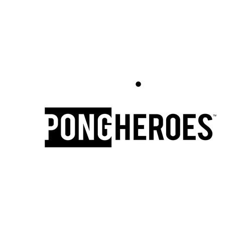 PongHeroes . Logo Concept