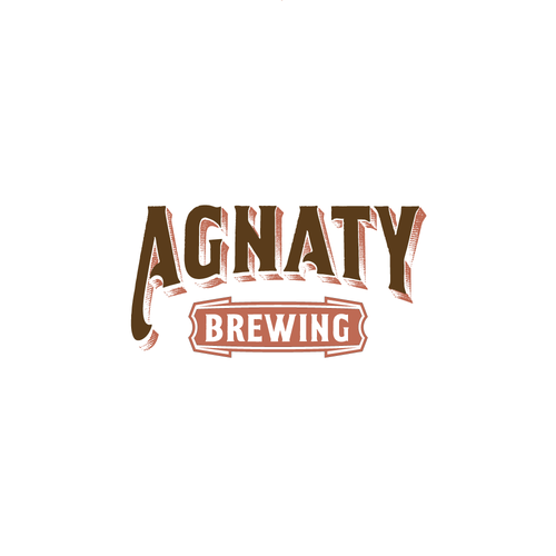 Bold logo for brewing