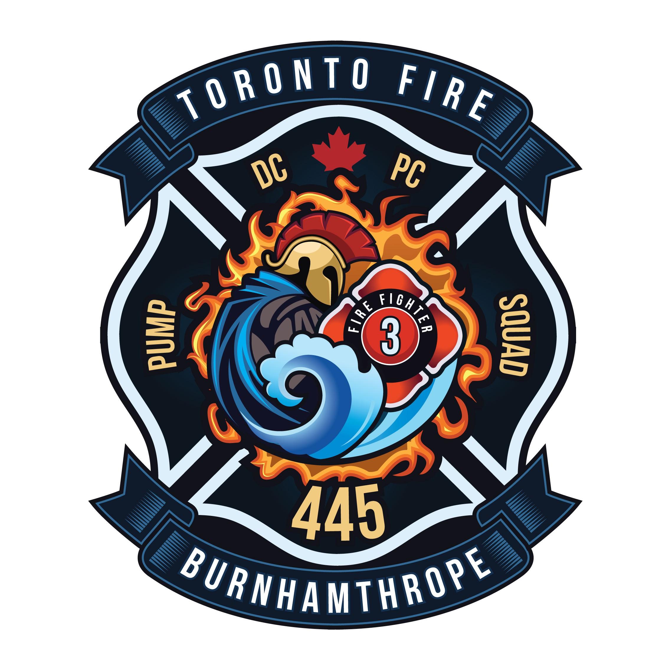 Design a logo for a  Toronto Fire Hall