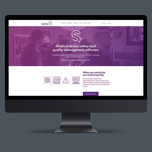 Website for Spiritus Partners