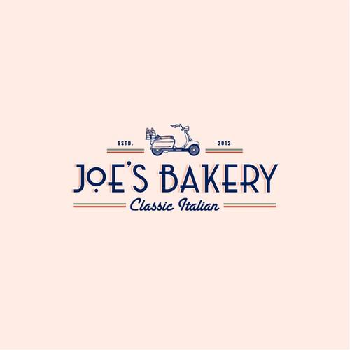 Art Deco inspired logo for Brooklyn based baker