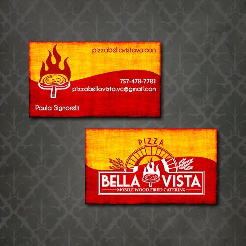 Pizza Bella Vista needs a business card design