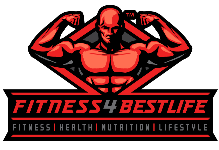 Design a powerful FITNESS 4 BEST LIFE logo