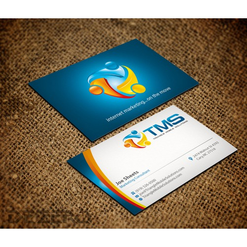 stationery for Triangle Mobile Solutions. LLC