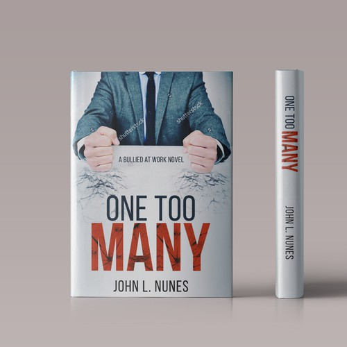 "Book cover Concept for ""One Too Many"""